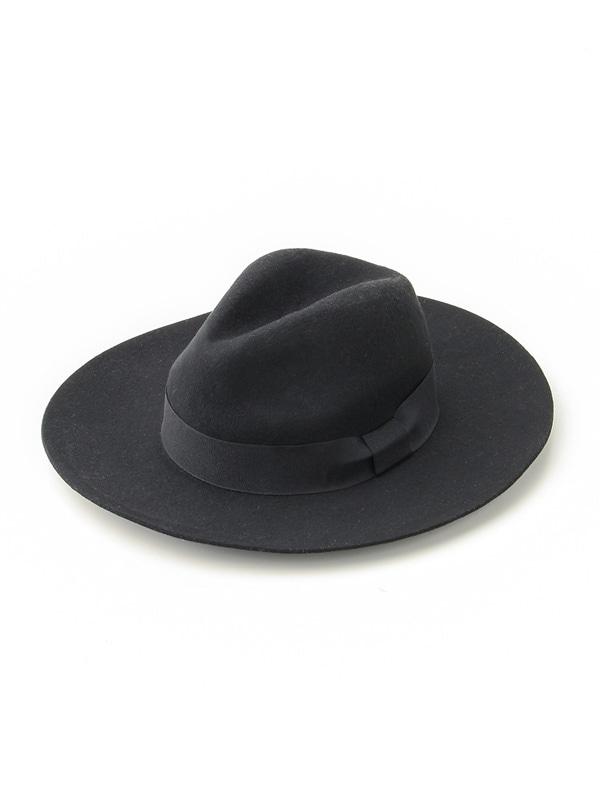 Honeys(ハニーズ) 【GLACIER】 ウールフェルト中折れ帽