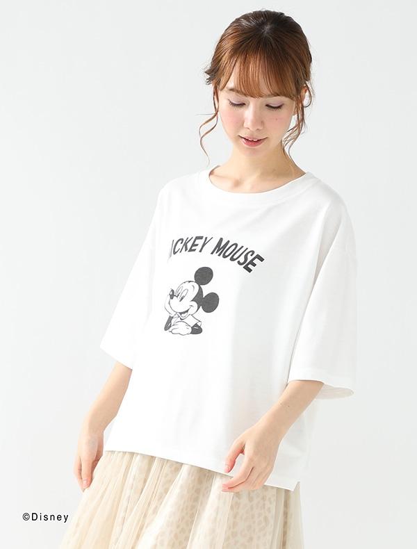 Tシャツ(ミッキー)【WEB限定LLサイズ有】