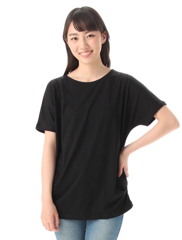 Honeys (ハニーズ) 【GLACIER】 脇タックTシャツ