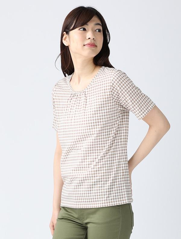半袖総柄Tシャツ