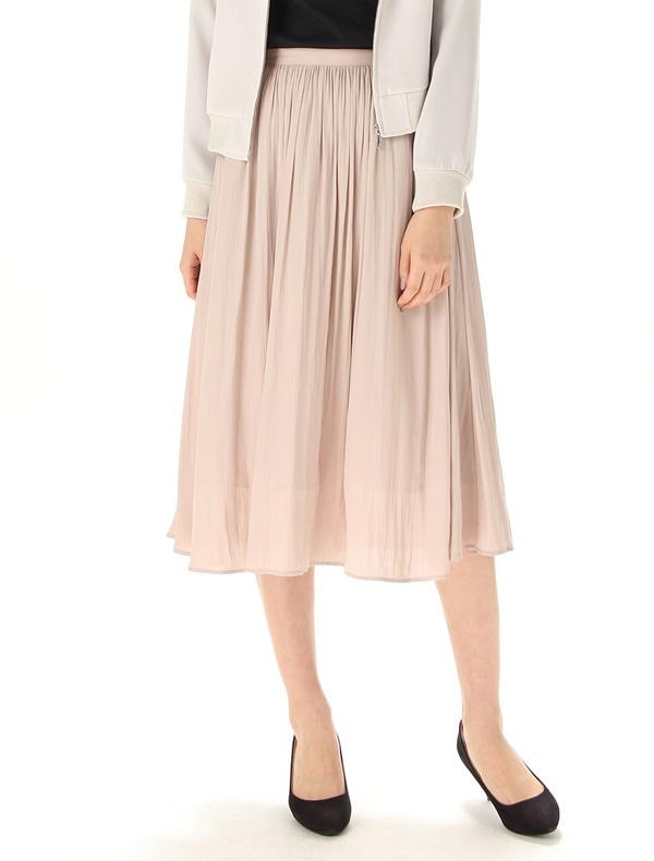 ミディー丈スカート