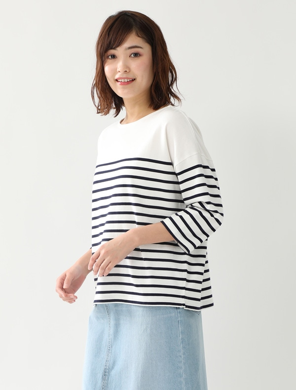 ナバルボーダーTシャツ