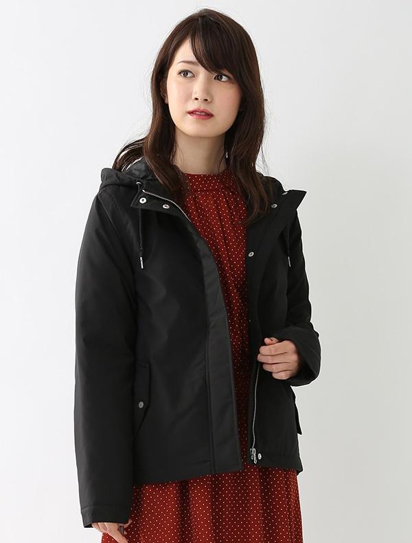 中綿フードジャケット