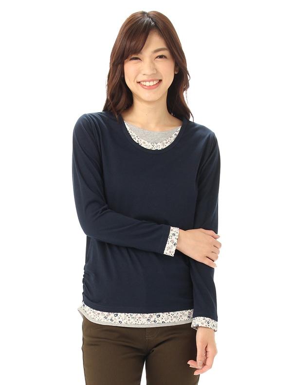 Honeys (ハニーズ) 【CINEMA CLUB】 みせかけTシャツ