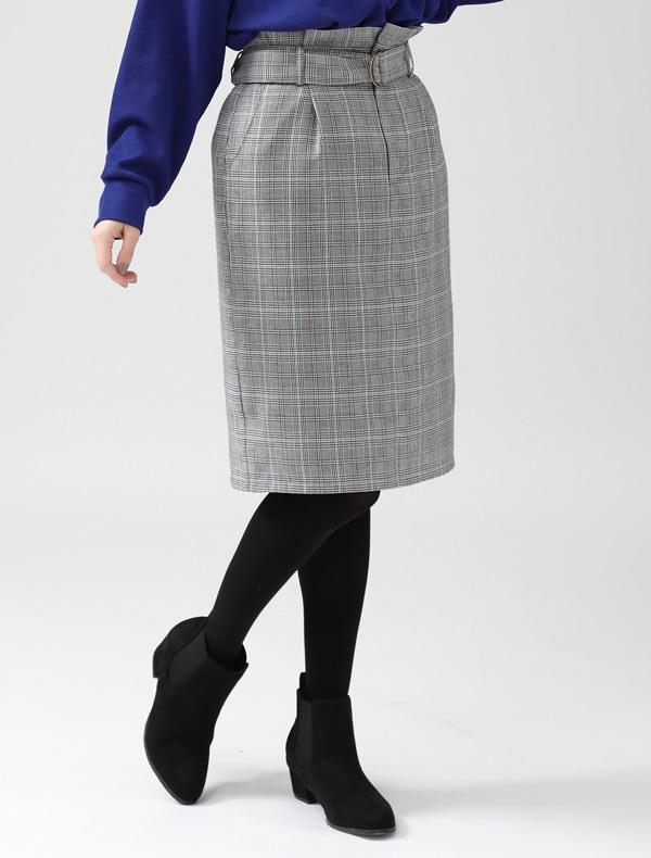 Honeys(ハニーズ) 【C・O・L・Z・A】 ベルト付スカート