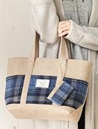 PVCパスケース付Bag