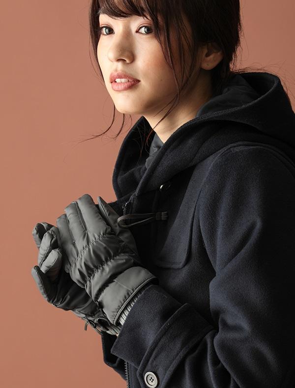 リボン付ナイロン手袋