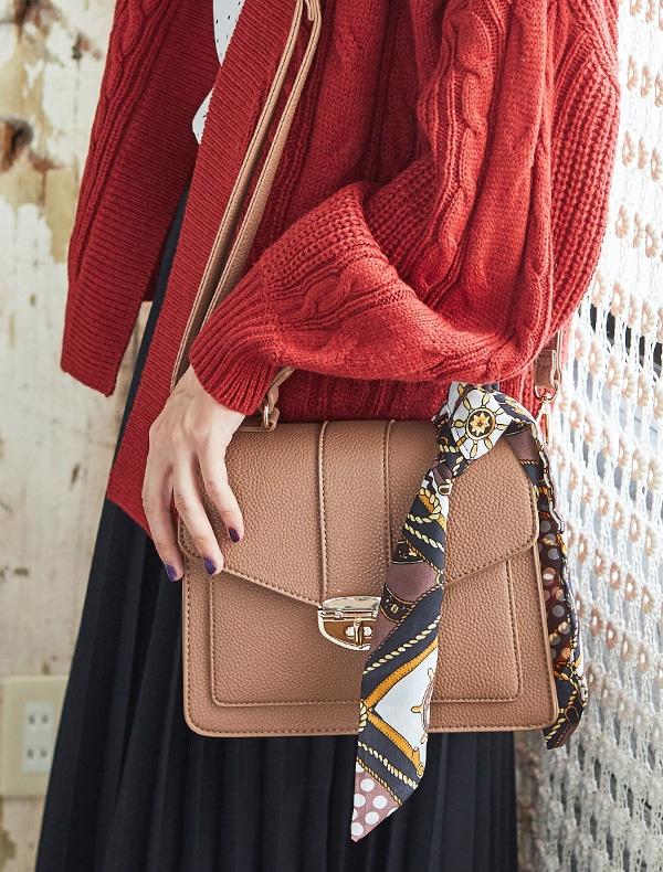 スカーフ付Bag