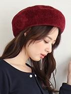 モールニットベレー帽