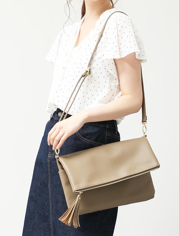 PVCタッセル付Bag