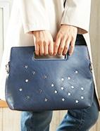 PVC星形スタッズ付Bag