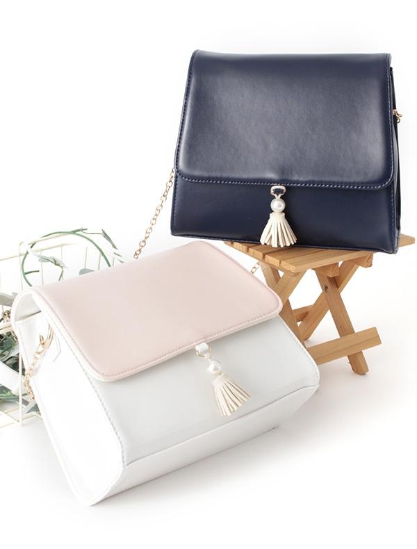 PVCパール付Bag