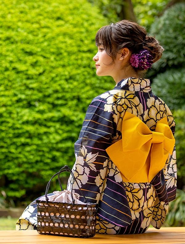 浴衣コン×牡丹【ノベルティ対象商品】