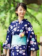浴衣コン×桜