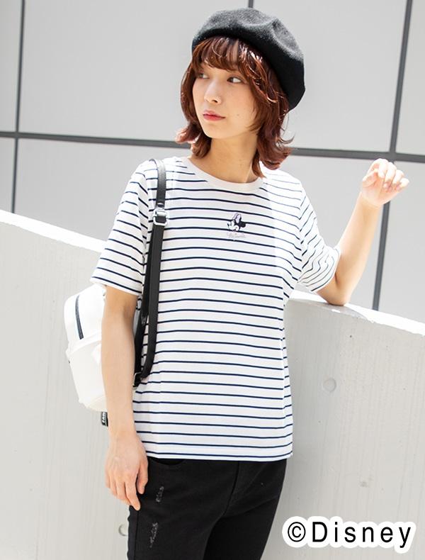Tシャツ(ミニー)【WEB限定LLサイズ有】