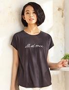 チュニックロゴTシャツ