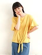 裾縛りプルオーバー(OT)