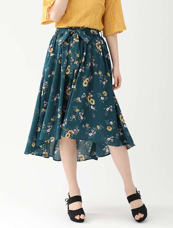 共リボン付スカート