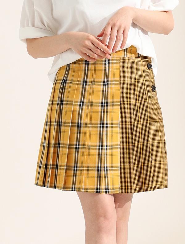 柄切替スカート