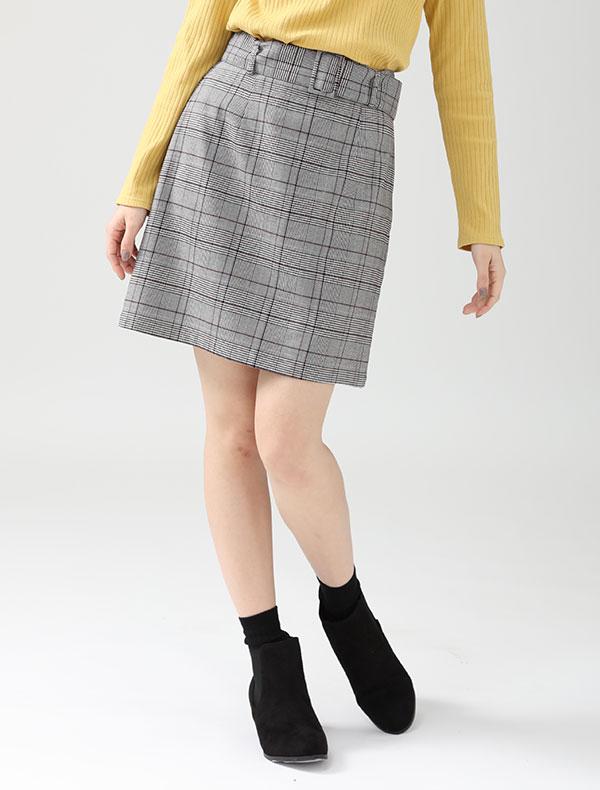 共ベルト付台形スカート