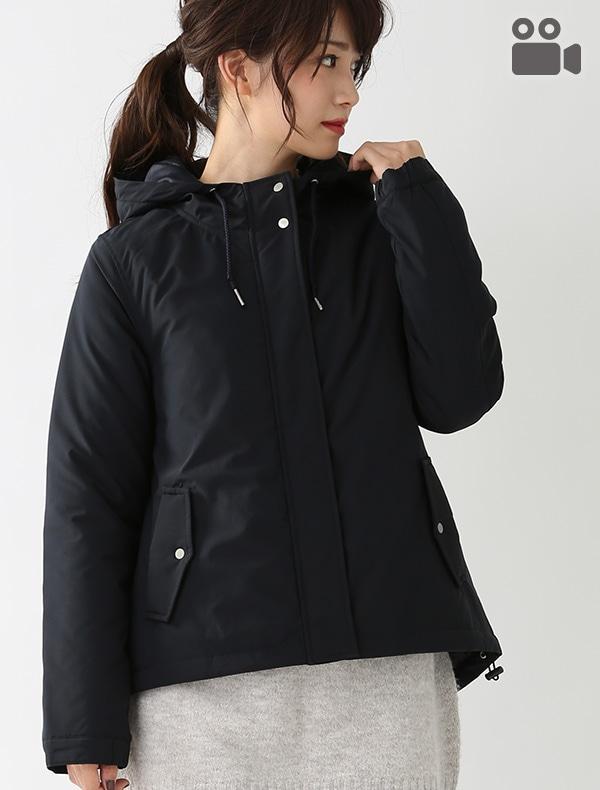 中綿フードジャケット【OUTLET】