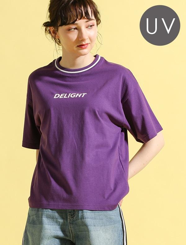 ライン使いTシャツ
