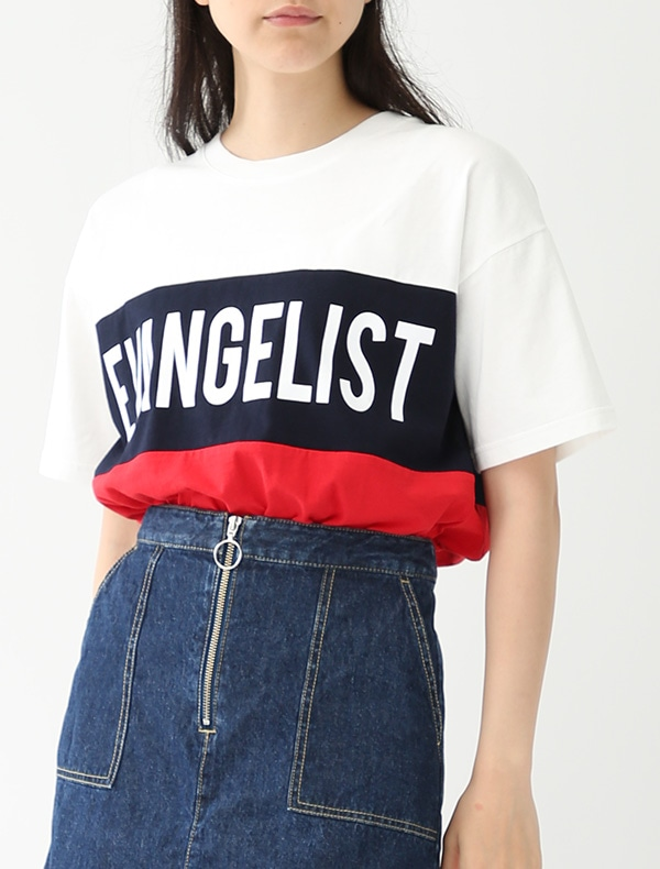 配色Tシャツ