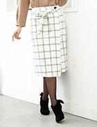 ラップ風スカート(OT)