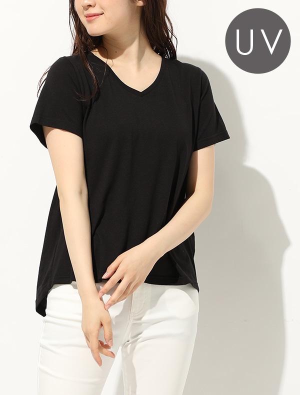 半袖AラインTシャツ