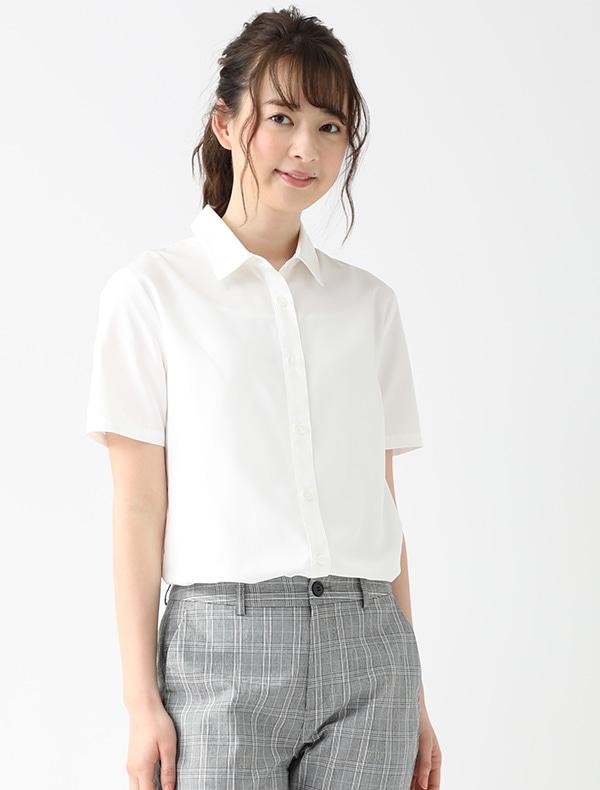 半袖レギュラーシャツ